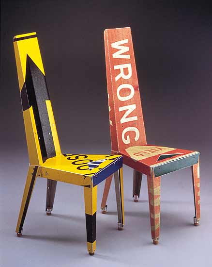 recycled-street-signs-chair