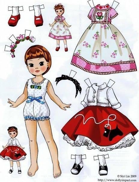 хартиена кукла