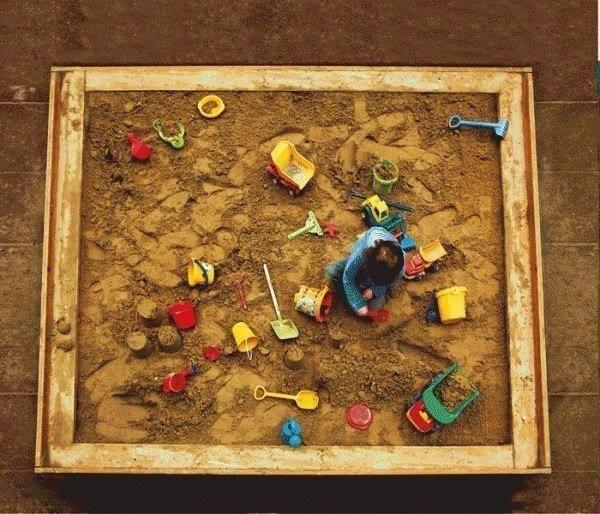Подредба в детския пясъчник