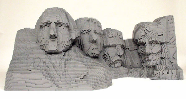 Image selected for Amazing Brick Art by Nathan Sawaya
